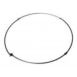 RC08 - Anello pieghevole in acciaio, diametro cm. 35