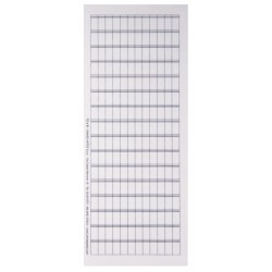 N62 - foglio da 192 cartellini 6 x 12
