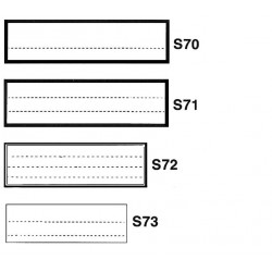 S7 - targhette per classificazione