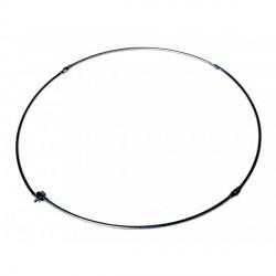 RC14 - Anello pieghevole in acciaio, diametro cm. 40