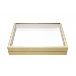 VTR8 glass showcase  beige...