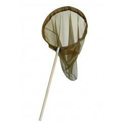 RT06 - Retino per lepidotteri con manico in legno cm. 60