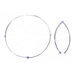 RC13 - Anello pieghevole in acciaio, diametro cm. 50