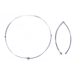 RC13 - Folding Net Ring in Steel Pipes, diameter cm. 50