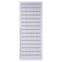 Cartellini in acetato trasparente